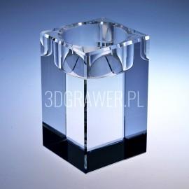 Kryształowy  świecznik