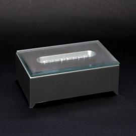 Podstawka pod kryształ - prostokątna 9 cm