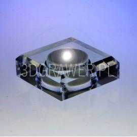 Model 10036: Kryształowa podstawka  - 6 cm